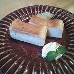 ファシュタ - チーズケーキ 500円ぐらい