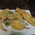 天ぷら ちはら - 野菜とあなごときす