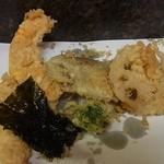 天ぷら ちはら - 野菜