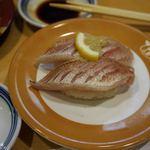 ひょうたんの回転寿司 - のどぐろ2貫