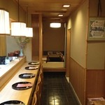湖月 - カウンターと個室(お座敷)