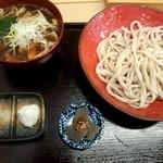 高円寺肉汁うどん 夕虹 - 肉汁うどん 並(\730)