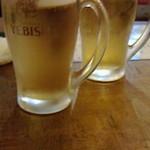 鶏ジロー - とりあえずビール
