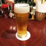 かおちゃん家deめしくい亭 - 生ビール