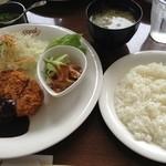 グー - 日替わりランチ(ご飯と汁物付)はカレーではありません。