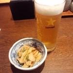 津多家 - 生ビールとおとおし