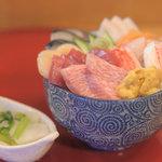 海鮮どんぶりっこ - 海鮮丼が・・・1000円!