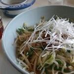 村田食堂 - 冷やし担々麺大盛850円