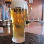 b フラット - 生ビール 300円
