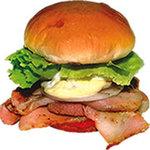 ビッグマン - 料理写真:『元祖ベーコンエッグバーガー』