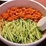 19435234 - 黒酢入りゴマ風味タンタン麺 880円