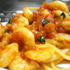 サバンナ - 料理写真:リングイネ エビのトマトソース