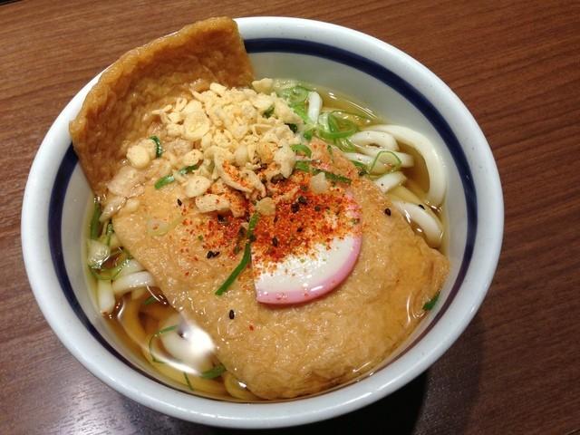 門左衛門 麺・串 - H.25.06.08.夜 きつねうどん 350円
