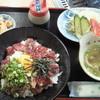神楽亭 - 料理写真:馬刺しユッケ丼 ¥1000