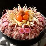 湯島 梅園 - 料理写真:特製鴨なべ 醤油か塩ベース