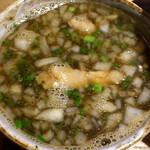 麺と心 7 - 牛骨つけ麺 つけ汁