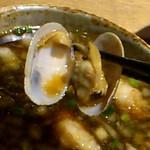 麺と心 7 - 牛骨つけ麺 あさり