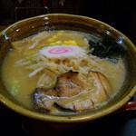満開屋 - 満開味噌ラーメン730円