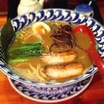 19441512 - 特濃ラーメン  太麺でいただきました(^-^)/