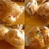 yashimaya - 料理写真:ハムチーズ、クロワッサン、塩パン、ツナと長芋のパン