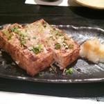 手打蕎麦 義 - 厚焼き豆腐