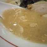 麺ダイニング 福 - コクのあるしっかりした味でしたね。  臭みもさほど感じられなくて。