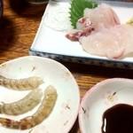 光藤旅館 - 料理写真:海老の踊り