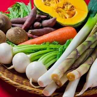 野菜へのこだわり