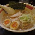 ラーメン長山 - 味玉ラーメン 750円                             (細麺)