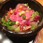 Kappouyamabe - ローストビーフ入りサラダ