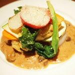 ラトリエ ド ルキャン - おすすめランチコースのメインの肉料理