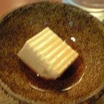 Tonkatsukewaike - 小鉢は柚子豆腐