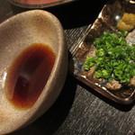 黒毛和牛 牛正 - 焼しゃぶ用ポン酢・ネギ・柚子胡椒