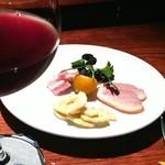 19450877 - ワインセットのおつまみ