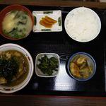 花のれん - おろし焼肉定食630円