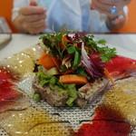 ビストロ ダイア - 定番の野菜タップリ田舎風パテ