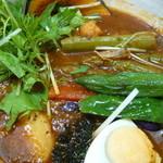 Neco - トマトスープのヤサイカレー(\960)