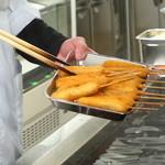 だるま - 料理写真:いつも揚げたて。サクサクが届きます