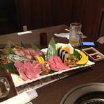 竹林 - 生の肉