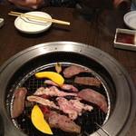 竹林 - 焼いた肉