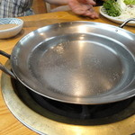 19458369 - しゃぶしゃぶの鍋の中身はお水だけ