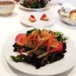19458397 - 前菜、サバのサラダ。
