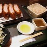 とんかつ マンジェ - 東京エックスの定食2990円