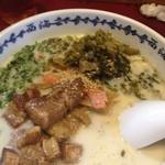 19463756 - 角煮ラーメン・高菜トッピング
