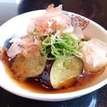 翠祥 - 小鉢(茄子の揚げびたし)