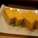 寿司文 - 玉子焼きをアテで