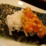 寿司文 - 七福納豆ばくだん 酢飯と一緒に食べるのも良い