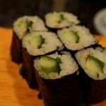 寿司文 - かっぱ巻き
