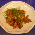 来来亭 - 豚キムチ定食の豚キムチ