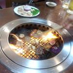 焼き肉が燃えています(2013.06.08)